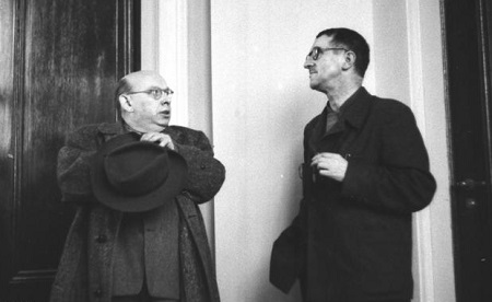 Berlin, Bertold Brecht und Hanns Eisler